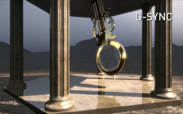 G-SYNC Pendulum Demo