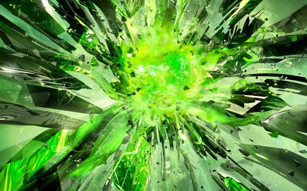 Power Unleashed (Landscape)