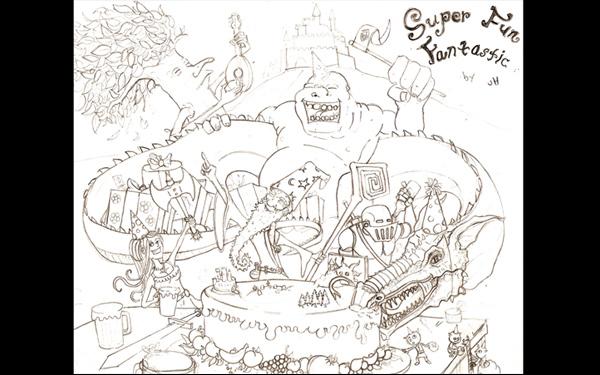 Super Fun Fantastic - Jordan Hill